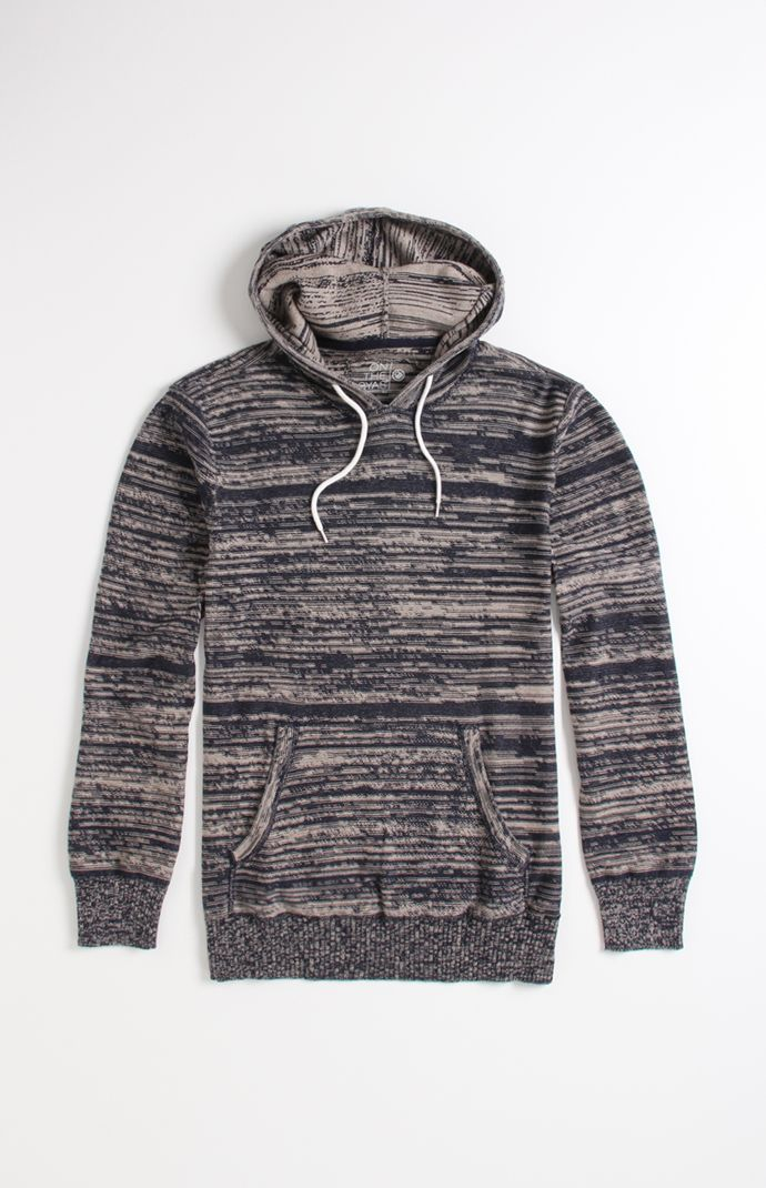 On The Byas Maro Variegated Marled Pullover Sweater