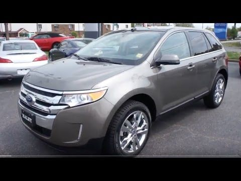 If you prefer the finer things in life, a preowned 2013 Ford Edge Limited might just be the vehicle for you. This specific trim was designed with many luxurious details that enhance your comfort and convenience while on the road.      Inside we know...
