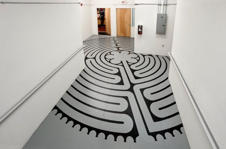 A labyrinth trapped by walls - unwalkable, frustrating