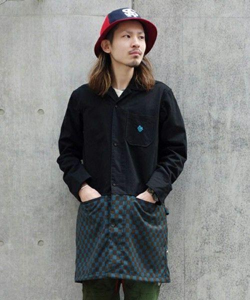 ちょっと個性的なデザイン。秋冬のファッション アイテム メンズショップコート コーデを集めました。
