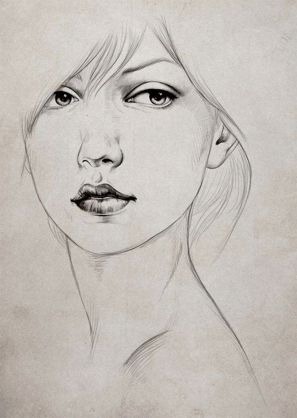 130 Best Images About Drawings On Pinterest | Female Face Drawing Realistic Pencil Drawings And ...