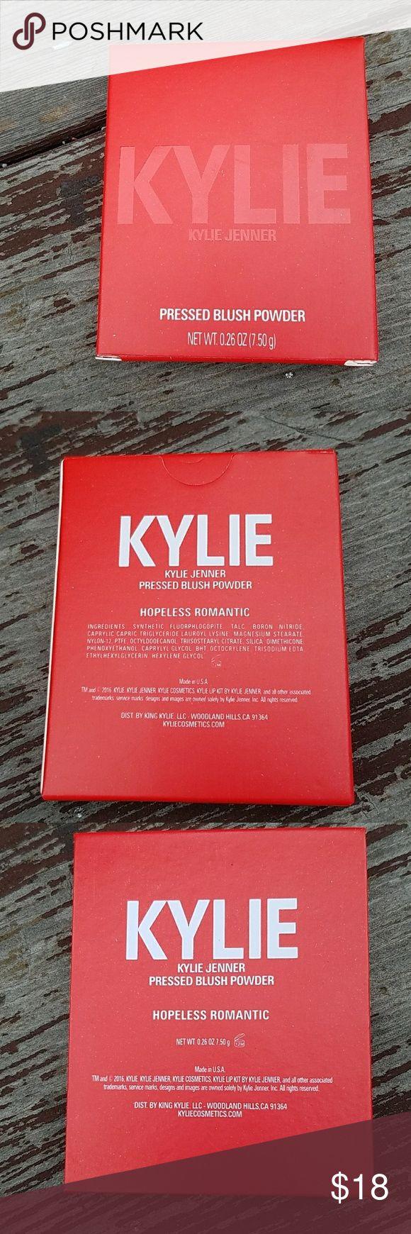 NIB Kylie Blush in Hopeless Romantic NIB Kylie Blush in Hopeless Romantic .26 oz. Kylie Cosmetics Makeup Blush