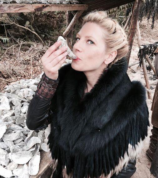 Katheryn Winnick on the #Vikings Season 4 set. Vikings (Television Show) - Community - Google+