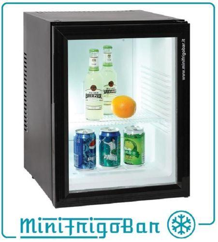 VETRINETTA-FRIGO-VETRINA-Refrigerata-ZERO-DECIBEL-da-Camera-HOTEL-Ufficio-NERO