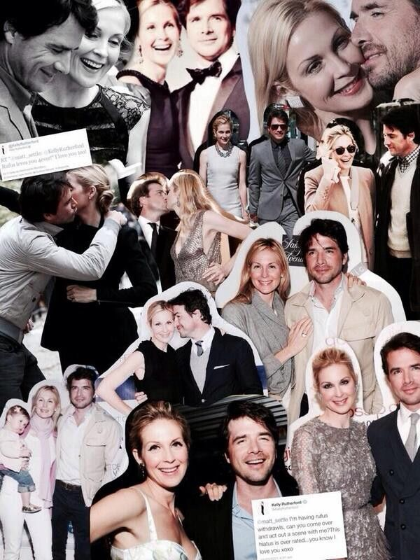 Kelly Rutherford and Matthew Settle // One True Parring