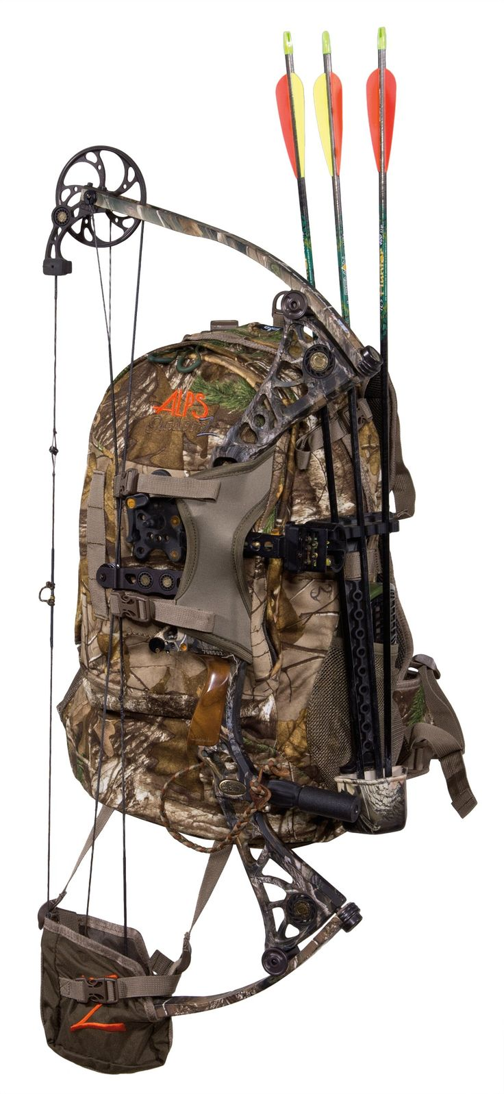 Amazon.com : ALPS OutdoorZ Pursuit Bow Hunting Back Pack - Brushed Realtree Xtra HD, 2700 Cubic Inches : Outdoor Backpacks : Sports & Outdoors