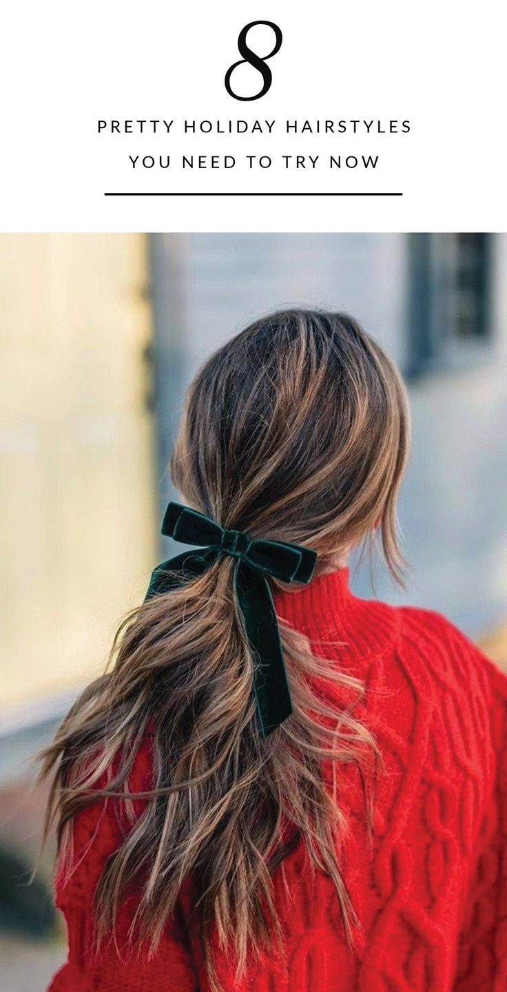 8 Pretty Holiday Hairstyles That Will Make Them Stop and Stare
