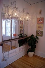 High Quality Decorative Handrail Turned Into Ballet Bar!!! Love This For My Lil Dancer
