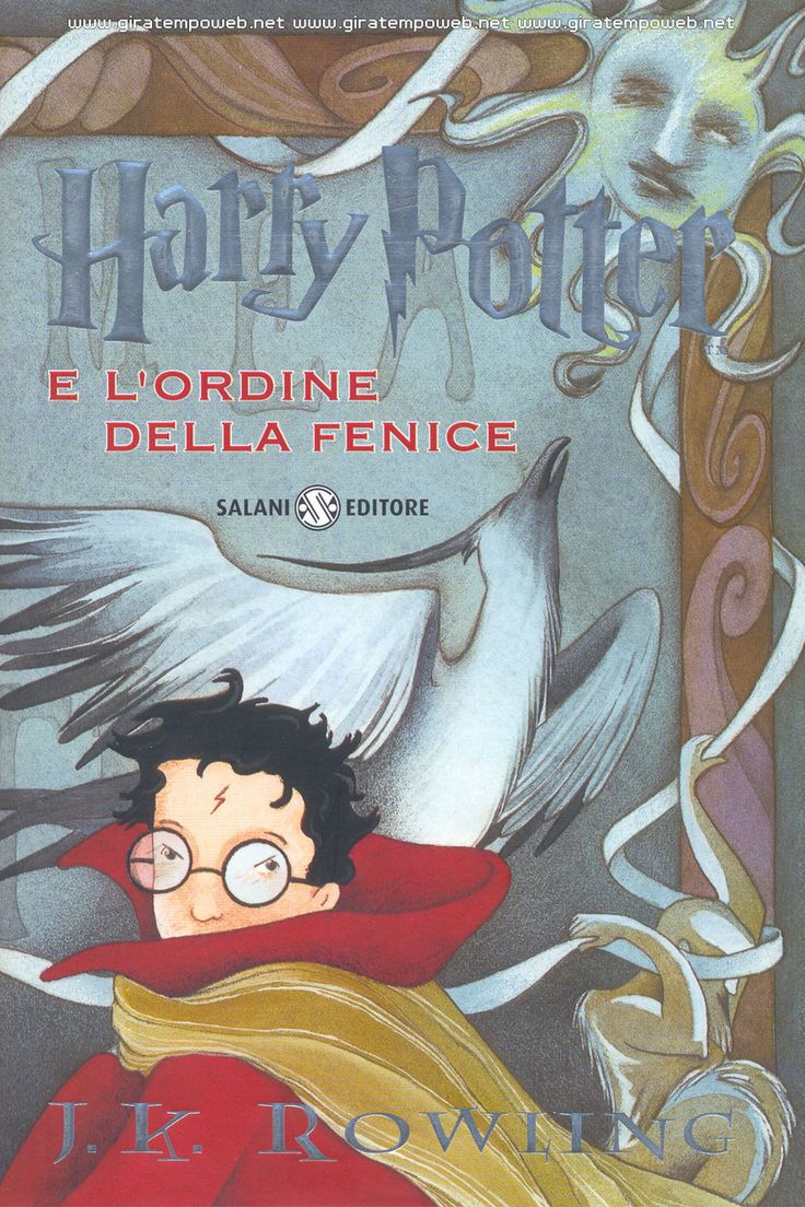 J. K. Rowling - Harry Potter and the phoenix order  J. K. Rowling - Harry Potter e l'ordine della fenice