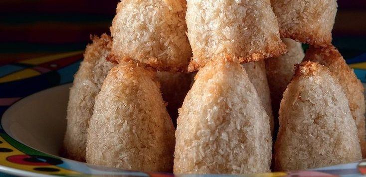 Μαλακά μπισκότα καρύδας
