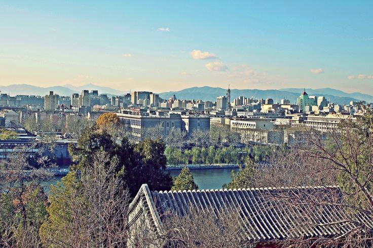 View of #Beijing from the White Pagoda in Beihai Park #China #traveling #honeymoon #love
