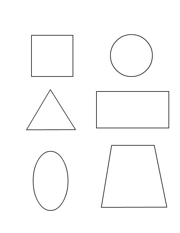 shapes kindergarten worksheets reprint