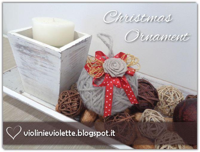 christmas ornament ♥