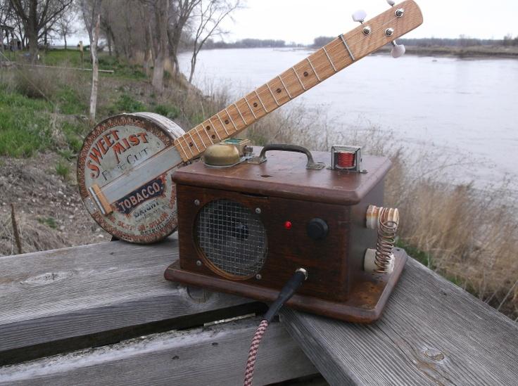 Ma Bell Antique Oak Phone Box Amp...sooooooo sweet (very steampunk)