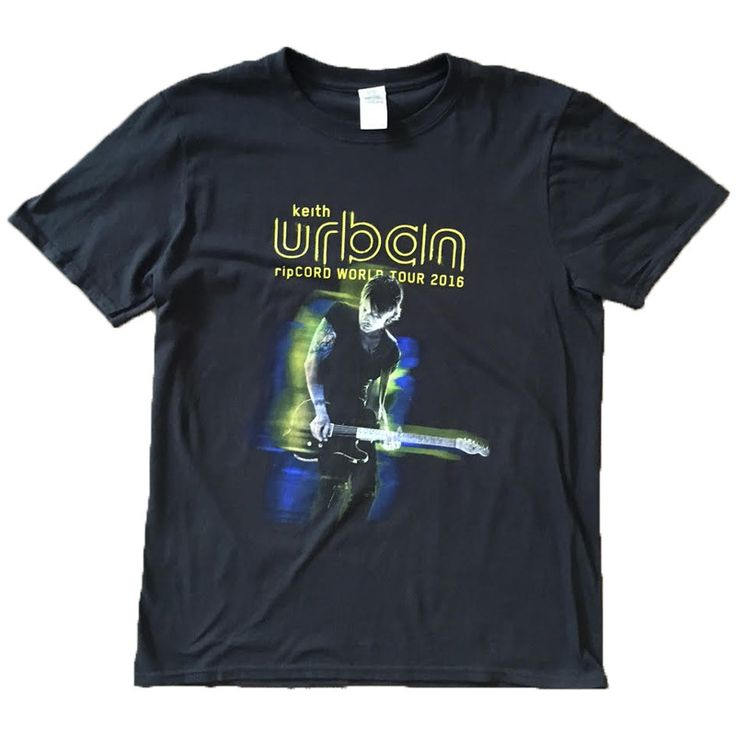RIPCORD WORLD TOUR TOUR TEE WITH DATES - $35 - http://keithurban.net/shop/apparel/9878/ripcord-world-tour-tour-tee-with-dates