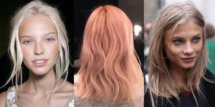 Dal biondo scandinavo alle sfumature pesca, queste sono le tendenze se hai i capelli chiari e vuoi cambiar testa