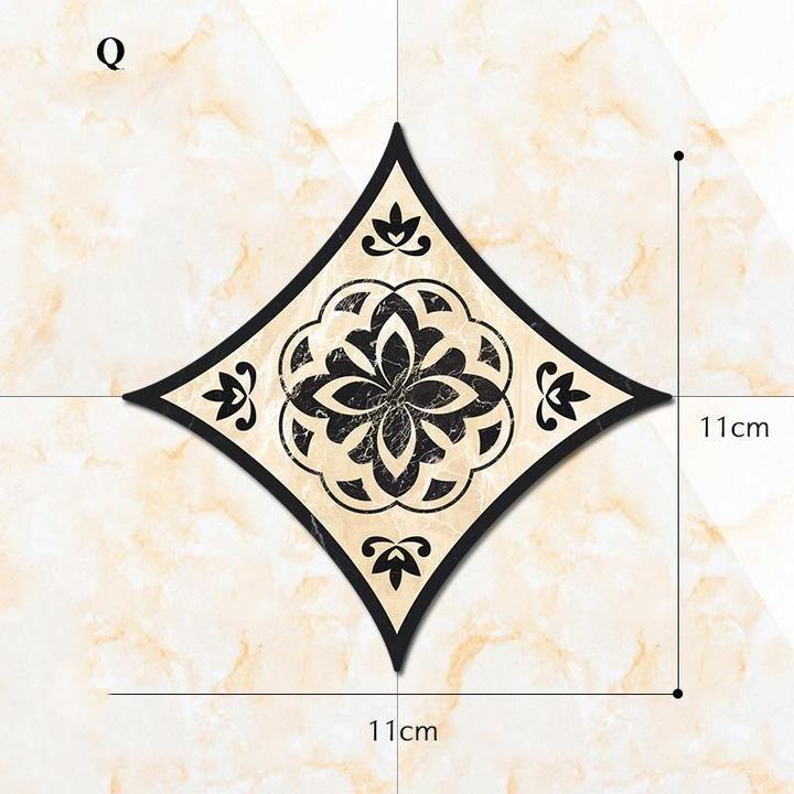 Tile Floor Tile Stickers In 2020 Tile Floor Flooring Tiles