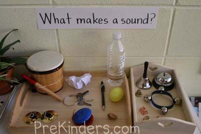 science activities for preschoolers | Display: Can You Make Music with Water?