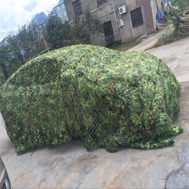 13X13FT Jungle Camo Netting Leaves Camo Hunting Cover