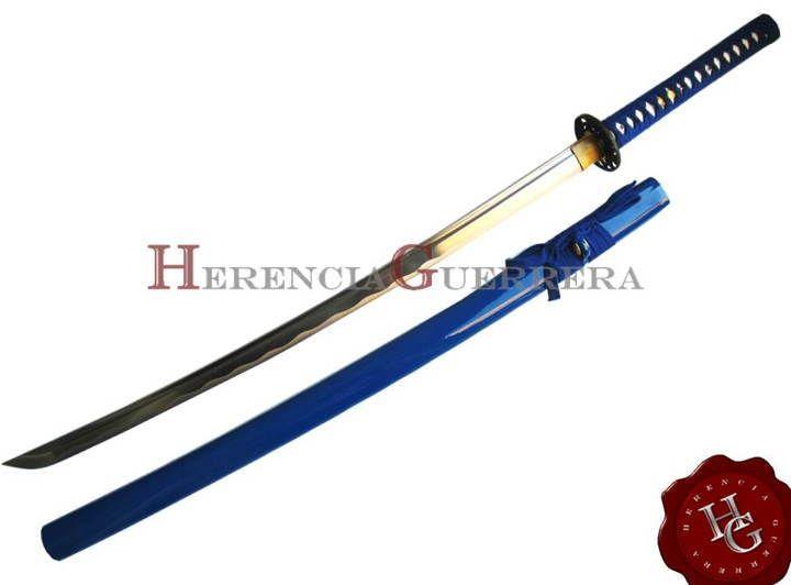 Katana Trento Samurai Azul — Herencia Guerrera