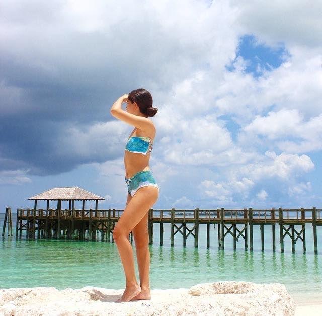 | #Entreaguas #LimitedEdition #Swimwear featured in The Ultimate Bikini Guide @bikinis | #EntreaguasGirls #Designer #Beachwear #FashionBlogger