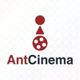 Exclusive Customizable Logo For Sale: Ant Cinema   StockLogos.com