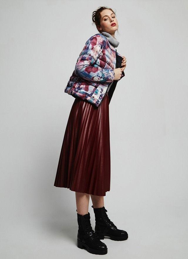 Collarless Quilted Jacket - Coats | Adolfo Dominguez shop online