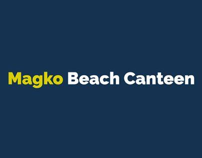 "Check out new work on my @Behance portfolio: ""Magko Beach Canteen"" http://be.net/gallery/44417753/Magko-Beach-Canteen"