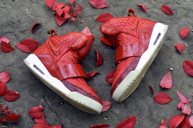 JBF CUSTOMS NIKE AIR YEEZY 1 (RED OCTOBER)
