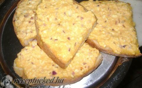 Tojásos szendvics sütőben recept