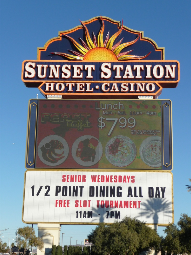Casino sunset buffet