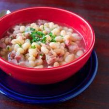 Pressure Cooker Senate Bean Soup - Dad Cooks Dinner