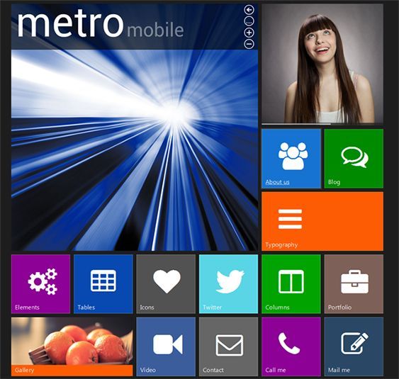 13 best 13 of the Best Metro Inspired WordPress Themes images on ...