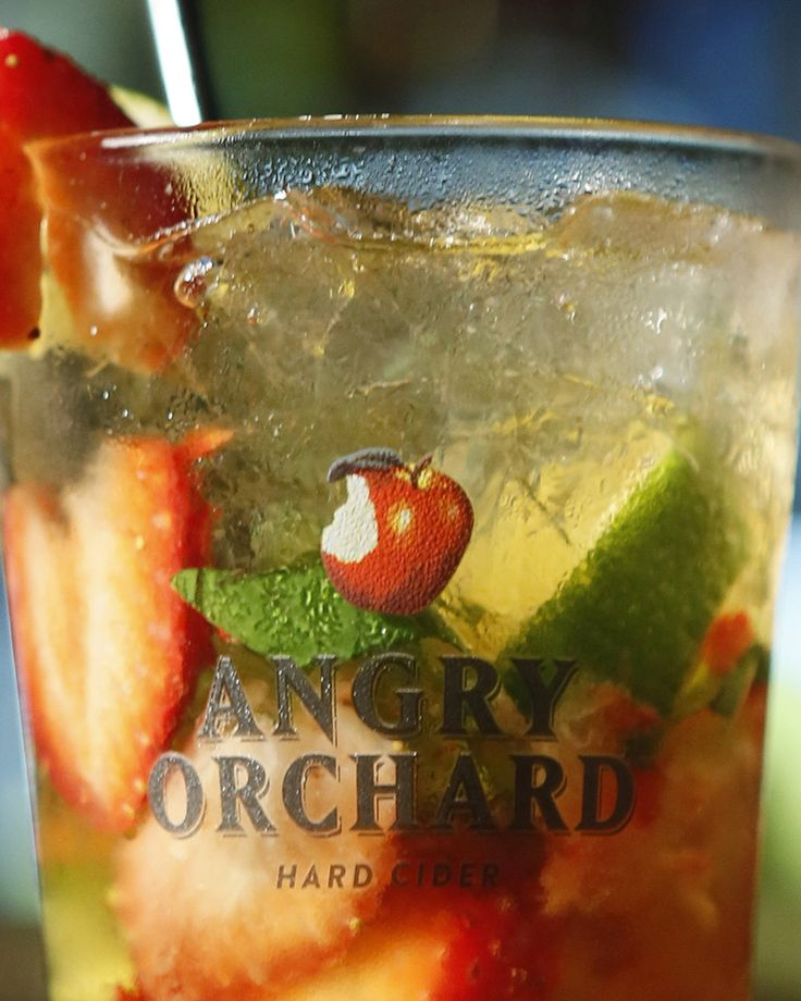 Fresh and light, mix Angry Orchard Hard Cider into this fruity Orchard Catch Cooler for easy summer entertaining.