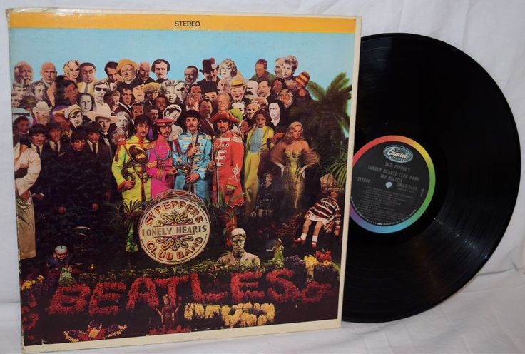 1967 The Beatles Sgt Peppers Lonely Hearts Club Band LP Record Capitol SMAS-2653 602537825776 | eBay