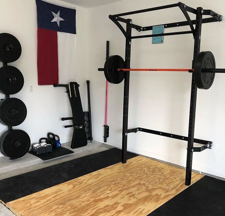 Best garage gym images on pinterest