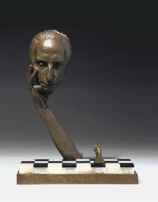 Sculptures by Marcel Duchamp | tardive de duchamp une sculpture intitulé marcel duchamp moulé vif