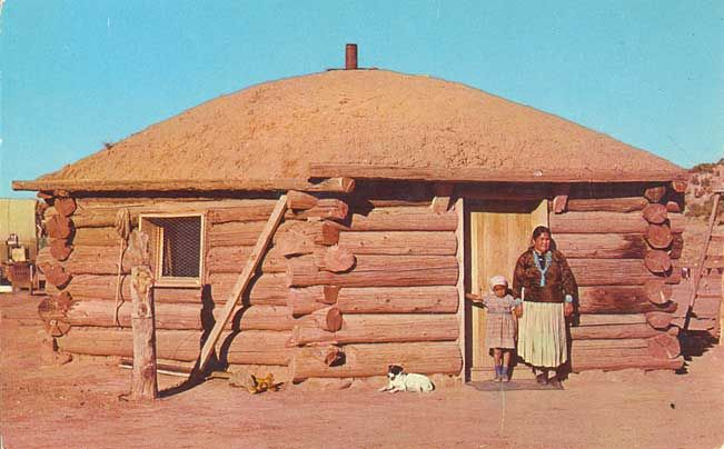 Navajo Indian Hogan | Monument Valley, Arizona