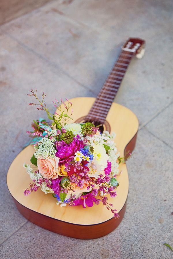 California Hippie Chic Wedding Ideas Ruffled.