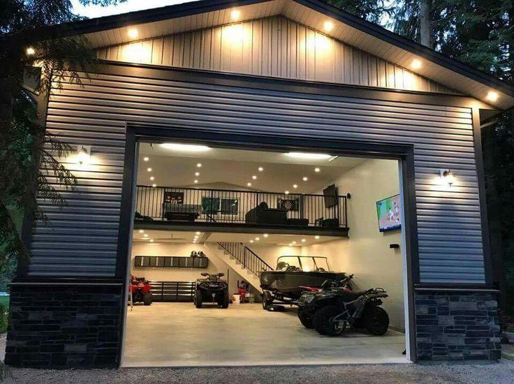 отдельный гараж в частном доме фото правило