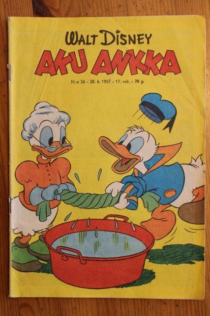 Aku Ankka 1967 nro 26, Antikvaarin hinta: 3 EUR