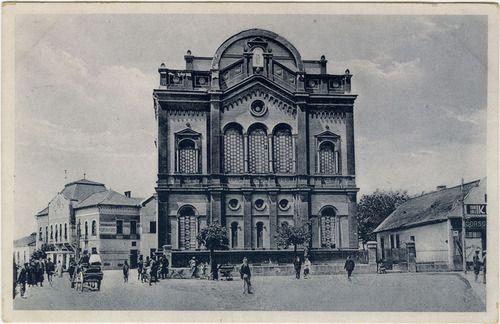 Berehovo / Beregszász Synagogue