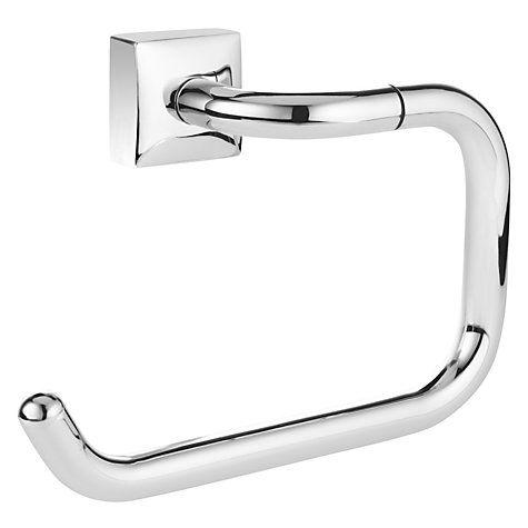 Buy John Lewis Pure Bathroom Swing Toilet Roll Holder, Chrome Online at johnlewis.com