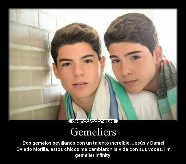 daniel y jesus oviedo morilla - Gemeliers Dos gemelos ...