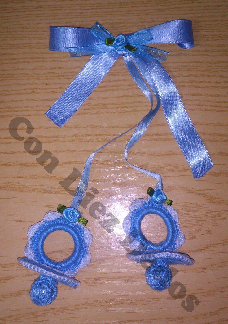 Chupete para decorar las cunas o los carritos de bebes