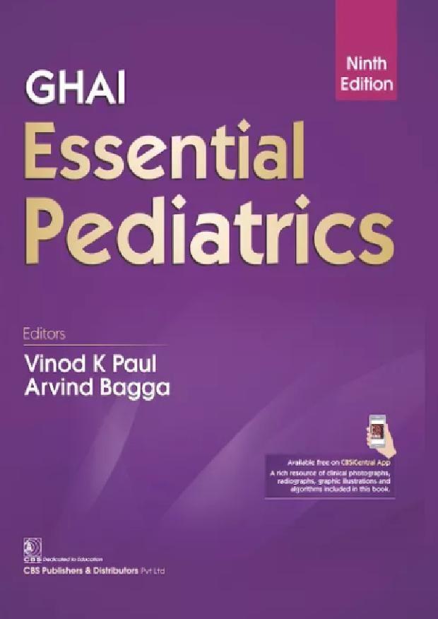 Ghai Essential Pediatrics 9th Edition Pdf Free Download