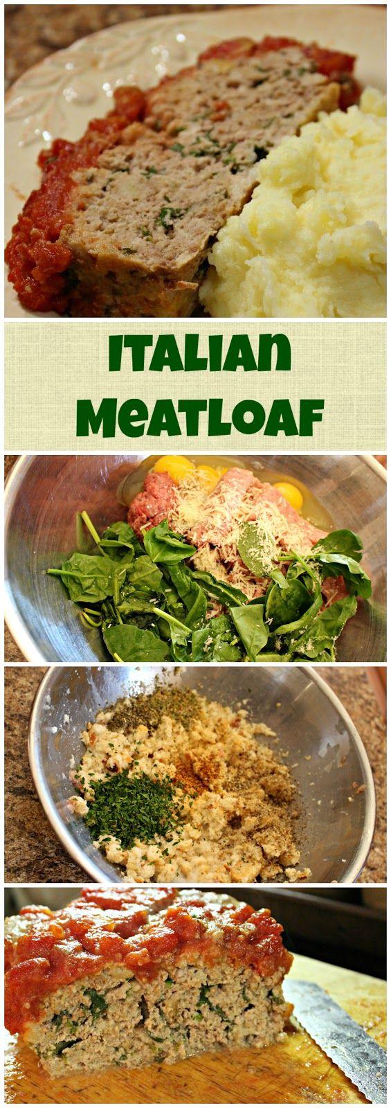 Jenn's Random Scraps: Italian Meatloaf