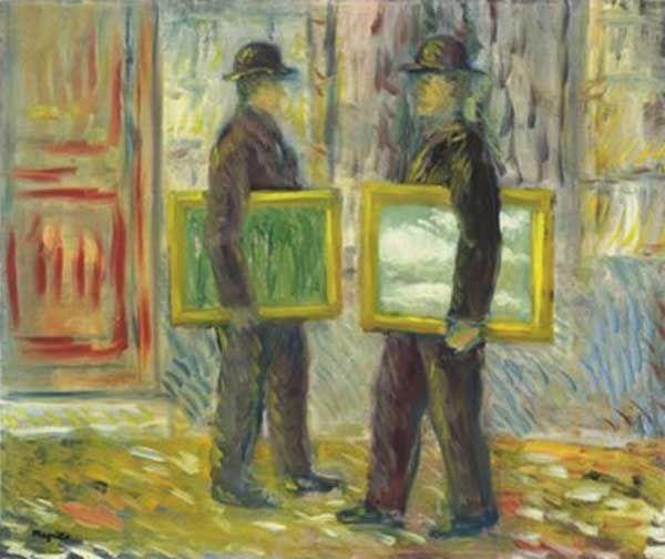 ©Magritte - L'antiquaire en rêve...