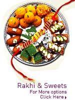 Rakhi & Sweets http://www.lovenwishes.com/rakhisweet.htm