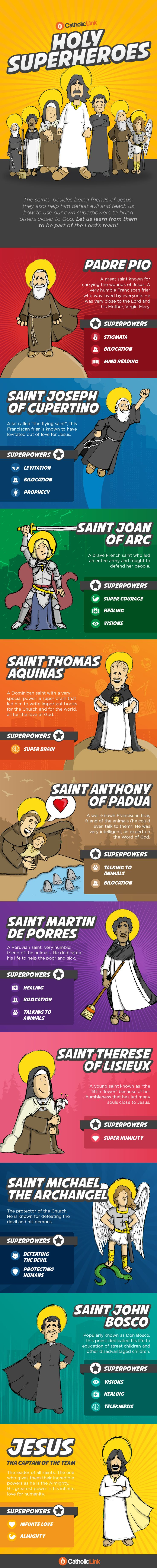 9 Saints that Were Superheroes in Their Free Time (And Their Great Captain!)